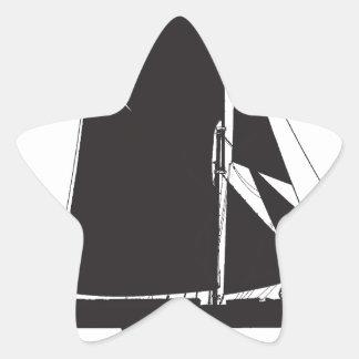 1889 spritsail barge - tony fernandes star sticker