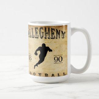 1890 Allegheny Pennsylvania Football Coffee Mug