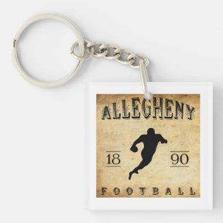1890 Allegheny Pennsylvania Football Keychain