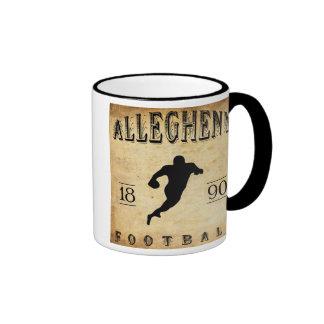 1890 Allegheny Pennsylvania Football Ringer Mug