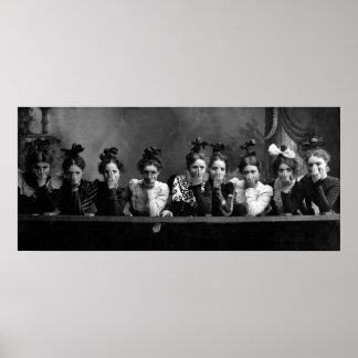 1890 Girlfriends Poster
