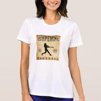 1890 Ishpeming Michigan Baseball Tee Shirts