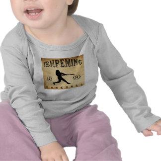 1890 Ishpeming Michigan Baseball T-shirt