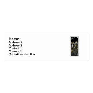 1890 Nocturnal Bike Team Double-Sided Mini Business Cards (Pack Of 20)