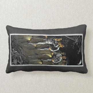 1890 Nocturnal Bike Team Lumbar Pillow