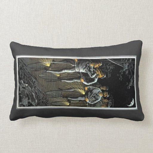 1890 Nocturnal Bike Team Pillow