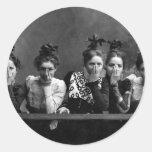 1890 novias pegatina