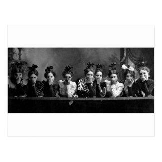 1890 novias tarjetas postales