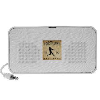 1890 Portland Oregon Baseball Travel Speaker