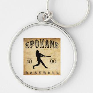 1890 Spokane Washington Baseball Keychain