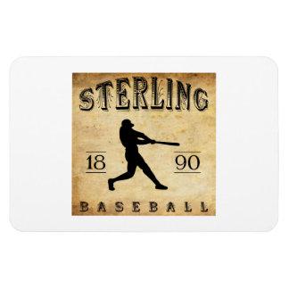 1890 Sterling Illinois Baseball Flexible Magnets