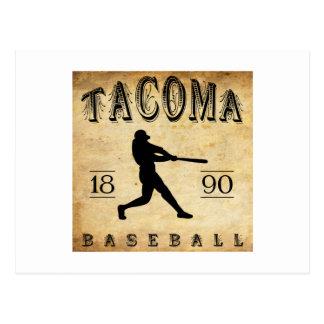 1890 Tacoma Washington Baseball Postcards