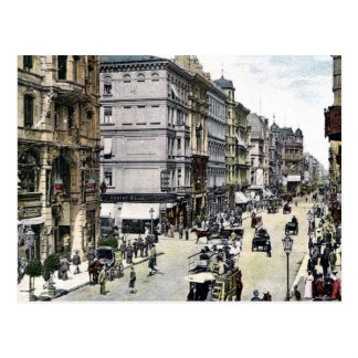 1890s Berlín Friedrichstrasse del vintage Postal