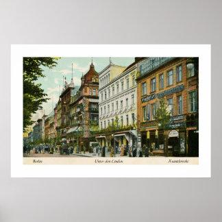1890s Berlin Unter Den Linden Poster