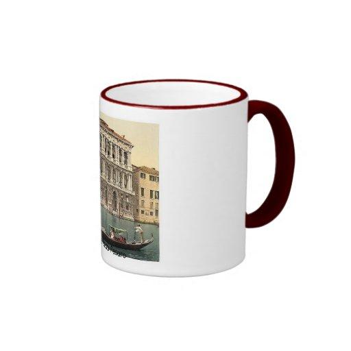 1890's de Italia Venecia Palazzo Pesaro Tazas De Café