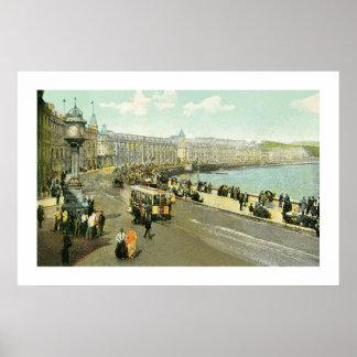 1890s Isle of Man, Douglas, The Parade Poster