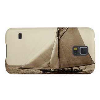 1891 American Yacht at Sea Galaxy S5 Covers