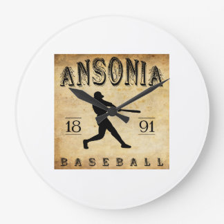 1891 Ansonia Connecticut Baseball Wallclocks