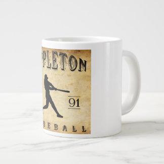 1891 Appleton Wisconsin Baseball Large Coffee Mug