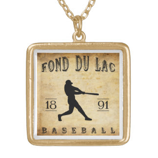 1891 Fond du Lac Wisconsin Baseball Necklaces