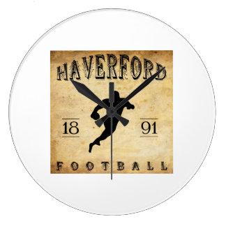 1891 Haverford Pennsylvania Football Wall Clocks