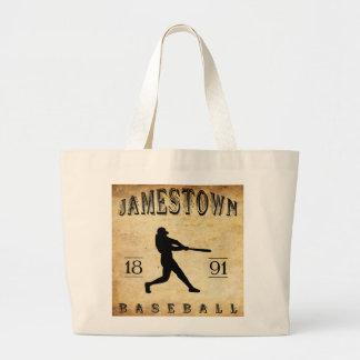 1891 Jamestown New York Baseball Canvas Bag