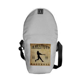 1891 Jamestown New York Baseball Courier Bag
