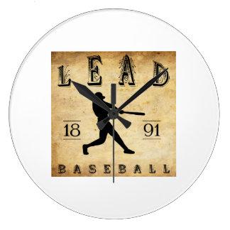 1891 Lead South Dakota Baseball Clock