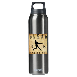 1891 Olean New York Baseball 16 Oz Insulated SIGG Thermos Water Bottle