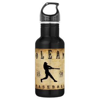 1891 Olean New York Baseball 18oz Water Bottle