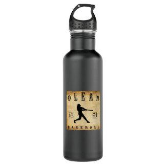 1891 Olean New York Baseball 24oz Water Bottle