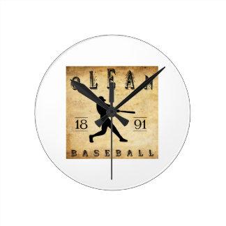 1891 Olean New York Baseball Clocks