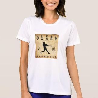 1891 Olean New York Baseball T-shirt