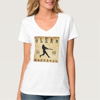 1891 Olean New York Baseball T Shirt