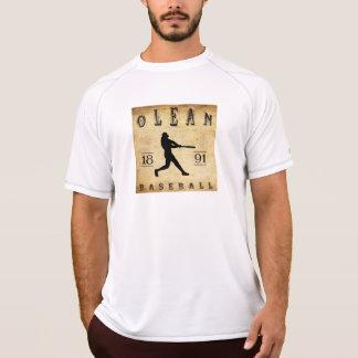 1891 Olean New York Baseball Tees