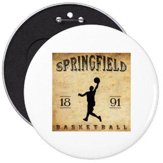 1891 Springfield Massachusetts Basketball Pin