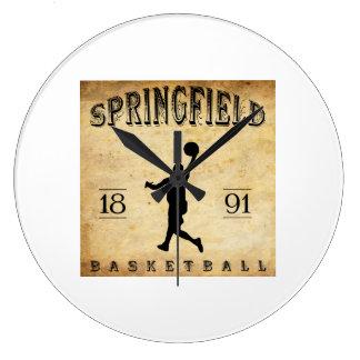 1891 Springfield Massachusetts Basketball Clocks