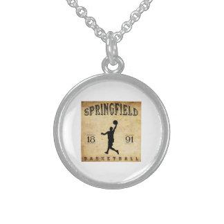 1891 Springfield Massachusetts Basketball Pendants