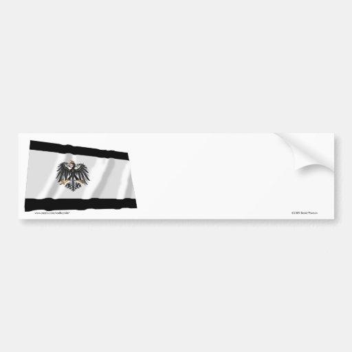 1892-1918) banderas de Prusia de Preussen ( Etiqueta De Parachoque