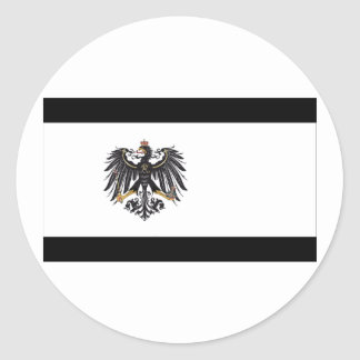 1892-1918) banderas de Prusia de Preussen ( Pegatina Redonda