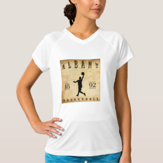 1892 Albany New York Basketball T-Shirt