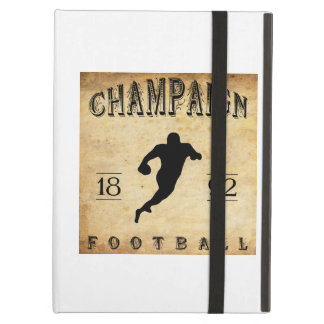 1892 Champaign Illinois Football iPad Covers