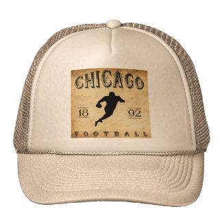1892 Chicago Illinois Football Trucker Hat