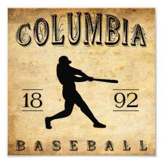 1892 Columbia South Carolina Baseball Photo