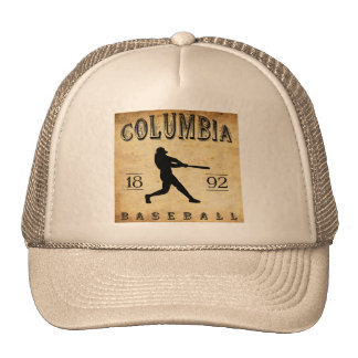 1892 Columbia South Carolina Baseball Trucker Hat