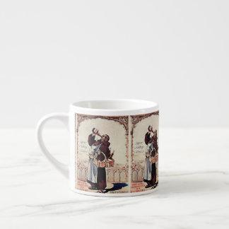 1892 Cute Monk  Liquor Espresso Cup