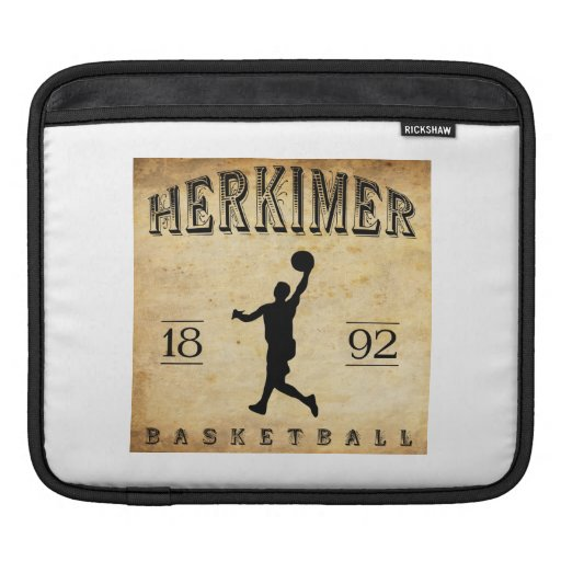 1892 Herkimer New York Basketball Sleeves For iPads