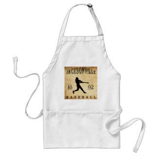 1892 Jacksonville Illinois Baseball Adult Apron