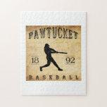 1892 Pawtucket Rhode Island Baseball Puzzles