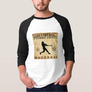 1892 Phillipsburg Missouri Baseball Tee Shirt